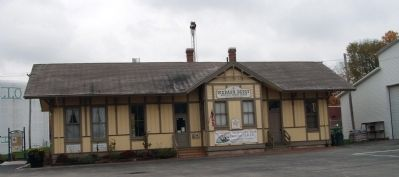 "Full Front View - - ""Wabash Depot"" Museum image. Click for full size."