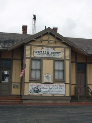 "Front Center Section - - ""Wabash Depot"" Museum image. Click for full size."