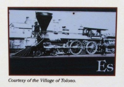 Close-up Photo - - Locomotive image. Click for full size.