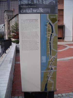 Canal Walk Marker image. Click for full size.