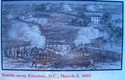 Picture of the Battle near Kinston, N.C., March 8, 1865 image. Click for full size.