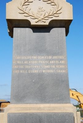 Lancaster County Confederate Monument Marker image. Click for full size.