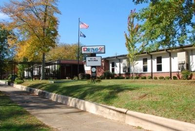 Current school on the property. image. Click for full size.