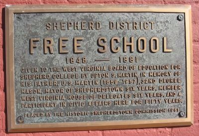 Free School Marker image. Click for full size.