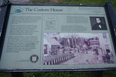 The Custom House Marker image. Click for full size.