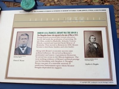 Right Section - - Douglas - Lincoln Debates Marker image. Click for full size.