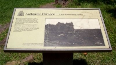 Anthracite Furnace Marker image. Click for full size.