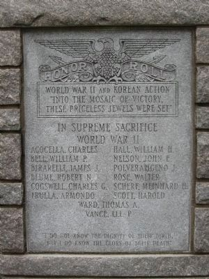 Ridgefield Veterans Memorial image. Click for full size.