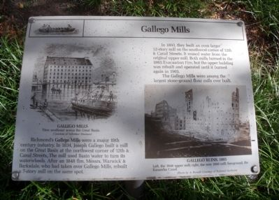 Gallego Mills Marker image. Click for full size.