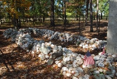 Buford's Massacre Monument image. Click for full size.