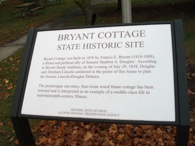 Bryant Cottage Marker image. Click for full size.