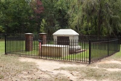 Francis Marion's Grave Marker image. Click for full size.