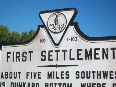 First Settlement Marker image. Click for full size.