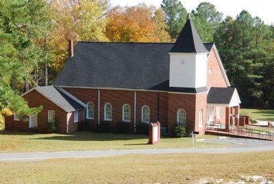 Flat Creek Baptist Church image. Click for full size.