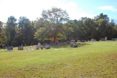 Flat Creek Baptist Church Cemetery image. Click for full size.