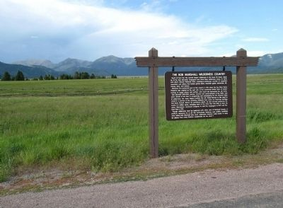 A wide view of The Bob Marshall Wilderness Country marker image. Click for full size.