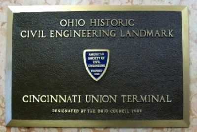 Ohio Historic Civil Engineering Marker image. Click for full size.