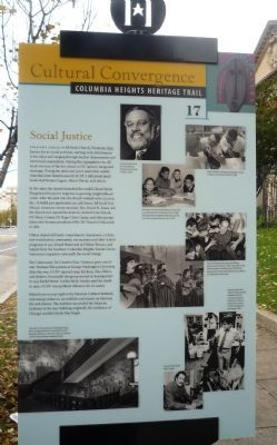 Social Justice Marker image. Click for full size.