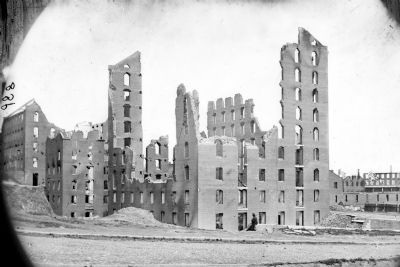 Richmond, Va. Ruins of the Gallego Flour Mill image. Click for full size.