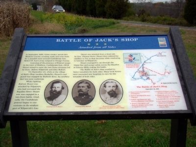 Battle of Jack's Shop Marker image. Click for full size.