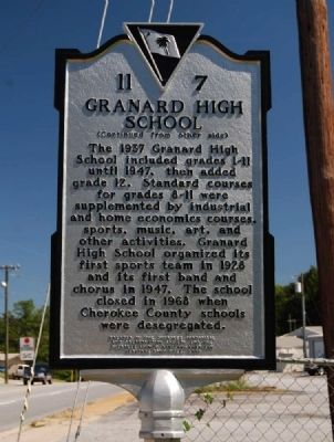 Granard High School Marker image. Click for full size.