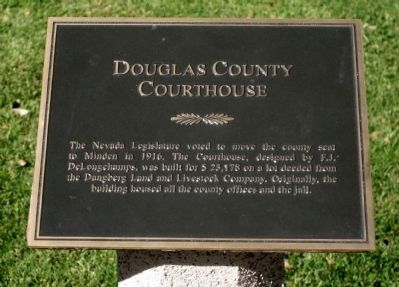 Douglas County Courthouse Marker image. Click for full size.
