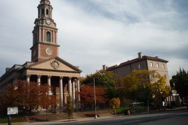 The All Souls Church and Mexican Cultural Institute buildings. image. Click for full size.