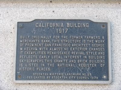 California Building Marker image. Click for full size.