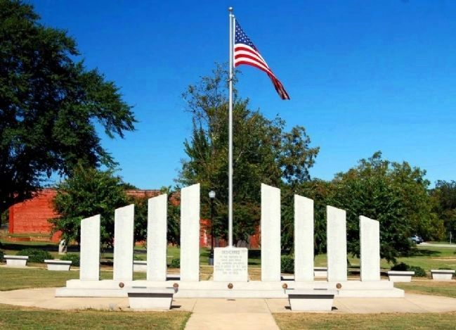 Cowpens Veterans Memorial image. Click for full size.