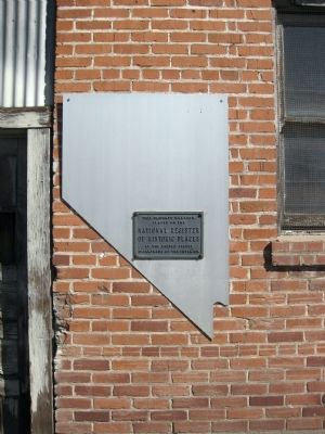 Minden Flour Milling Company - National Register of Historic Places Plaque image. Click for full size.