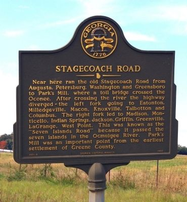 Stagecoach Road Marker image. Click for full size.