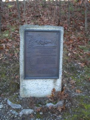 Knox Trail Marker NY-28 image. Click for full size.