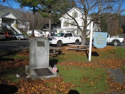 Marker in Egremont, Mass image. Click for full size.