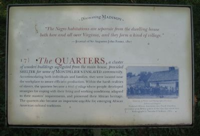 The Quarters Marker image. Click for full size.