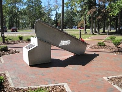 Onslow County 9/11 Memorial Marker image. Click for full size.