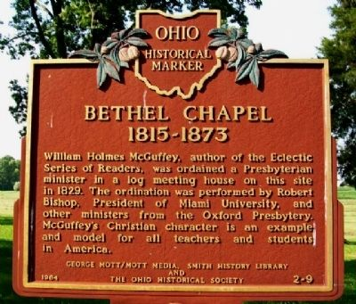 Bethel Chapel Marker image. Click for full size.