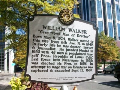 William Walker Marker image. Click for full size.