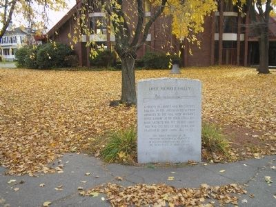 Marker in Westfield, Mass. image. Click for full size.