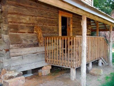 Hendrix Cabin -<br>Exterior, Front Entrance image. Click for full size.