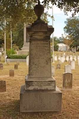 South Carolina Generals Memorial west face image. Click for full size.