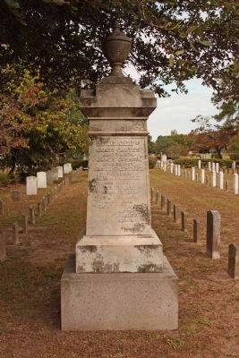 South Carolina Generals Memorial , south face - died since the war.. continued image. Click for full size.
