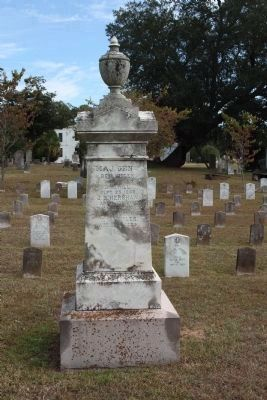 South Carolina Generals Memorial west face - died since the war.. continued image. Click for full size.