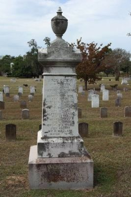 South Carolina Generals Memorial ,east face - died since the war.. continued image. Click for full size.
