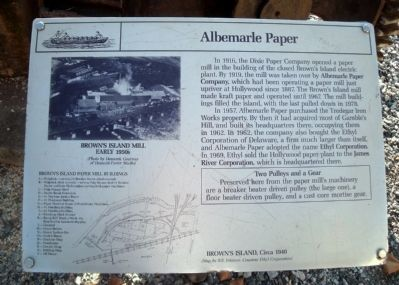 Albemarle Paper Marker image. Click for full size.