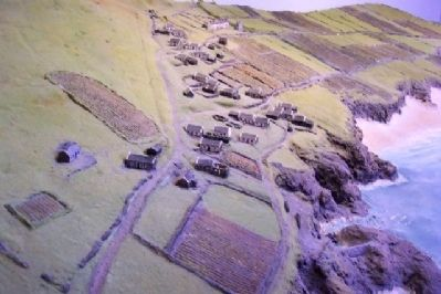 Diorama of Great Blasket Settlement image. Click for full size.