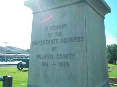 Confererate Soldiers Memorial Marker image. Click for full size.