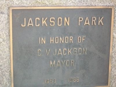 Entrance to Jackson Park image. Click for full size.