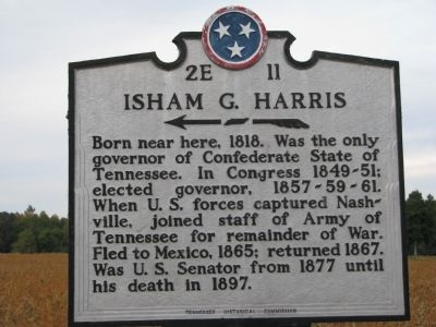 Isham G. Harris Marker image. Click for full size.