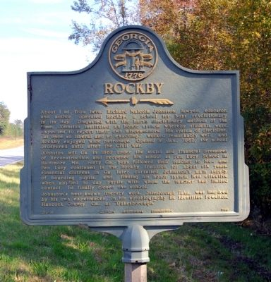 Rockby Marker image. Click for full size.