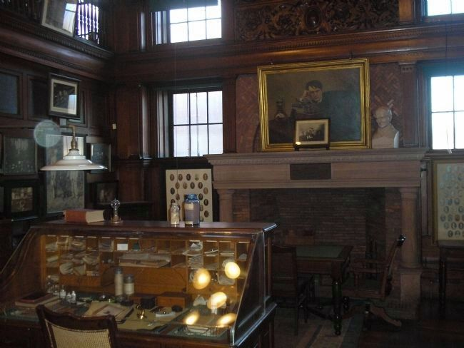 Edison's Desk in the Library image. Click for full size.